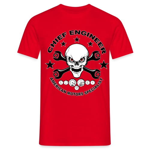 Chief engineer 04 - Men's T-Shirt