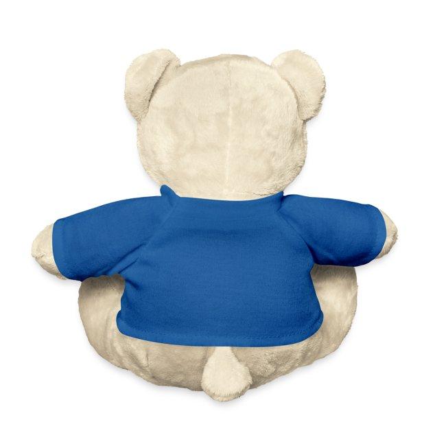 Søt teddy til den kommende sportsfiskeren
