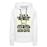 Hoodies & Sweatshirts ~ Women's Premium Hoodie ~ NO PITBULL