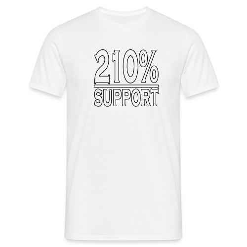 210% support - Men's T-Shirt