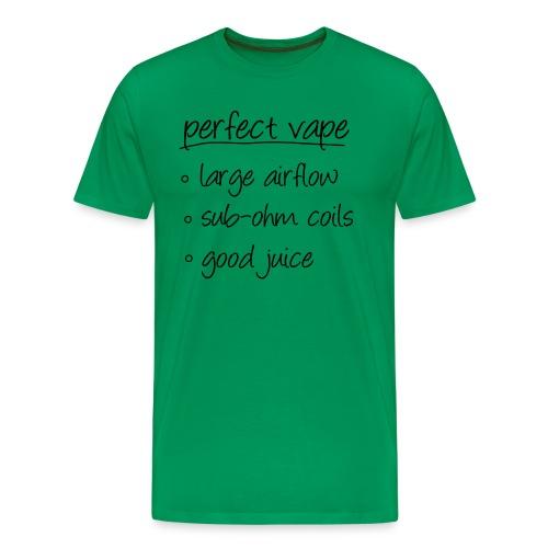 Perfect vape - T-shirt Premium Homme