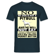 T-Shirts ~ Men's T-Shirt ~ Pitbull , bull terrier