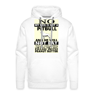 Hoodies & Sweatshirts ~ Men's Premium Hoodie ~ NO PITBULL