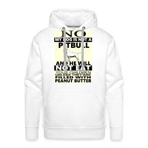 NO PITBULL - Men's Premium Hoodie
