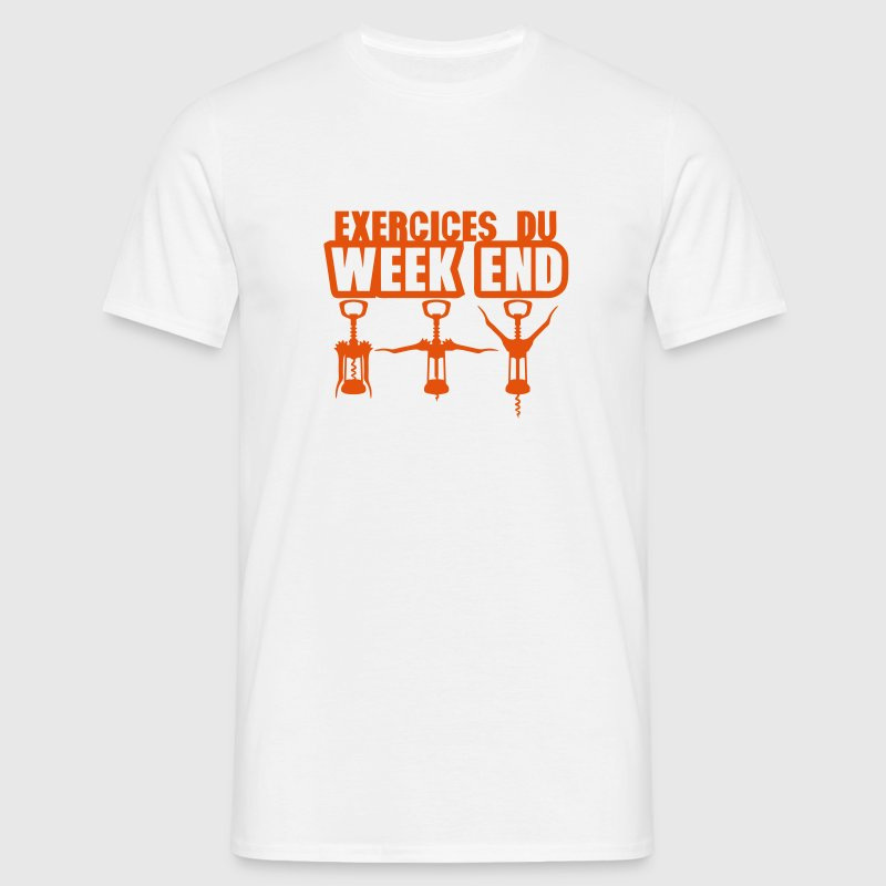 exercices week end tire bouchon gym 1912 Tee shirts - T-shirt Homme