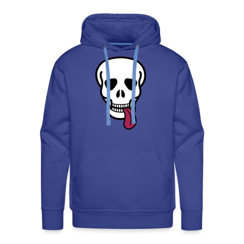 tongue skull Puserot - Men's Premium Hoodie