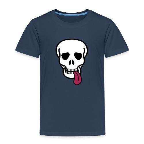 tongue skull Paidat - Kids' Premium T-Shirt