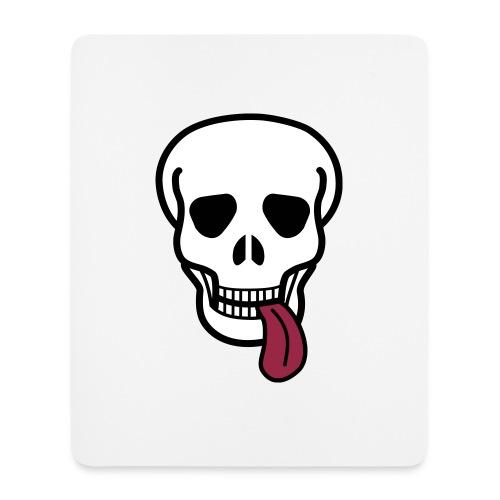 tongue skull Muut - Mouse Pad (vertical)