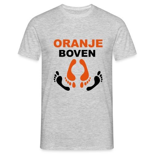 oranje boven - Mannen T-shirt