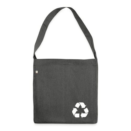 Recycling Recycled Bag - Shoulder Bag made from recycled material
