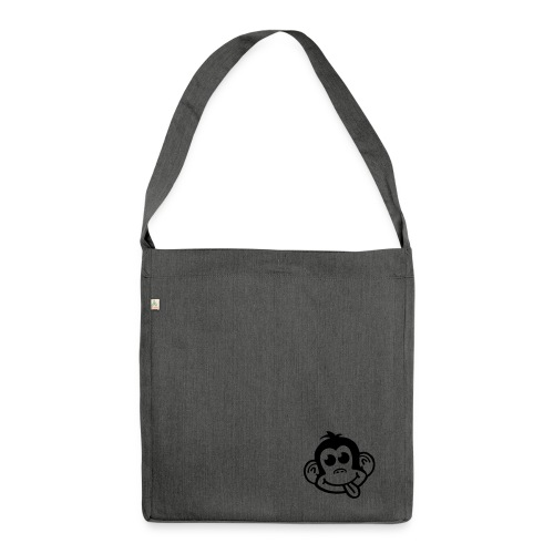 Cheeky Little Monkey Recycled Bag - Shoulder Bag made from recycled material