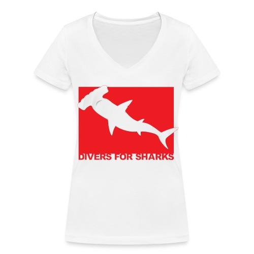 D4S Classic front - Camiseta ecológica mujer con cuello de pico de Stanley & Stella