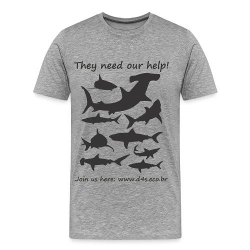 They Need front - Camiseta premium hombre