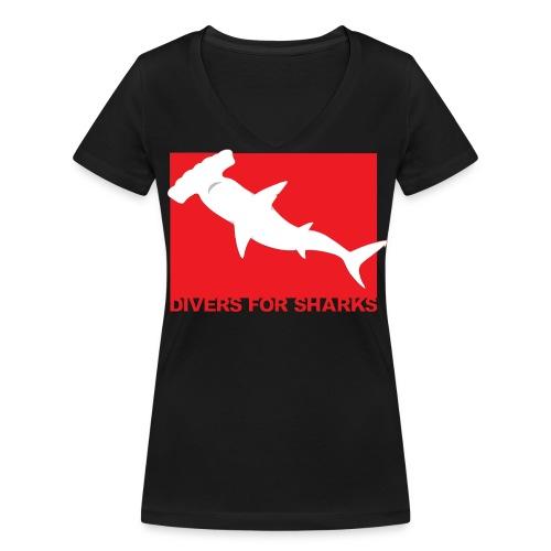 Iotti Back - Camiseta ecológica mujer con cuello de pico de Stanley & Stella