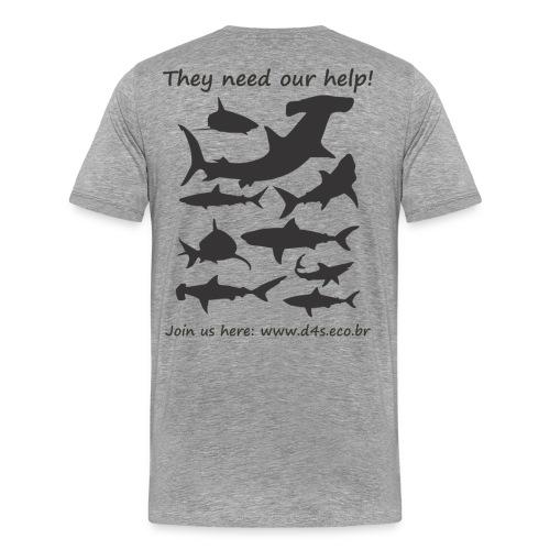 They Need Back - Camiseta premium hombre