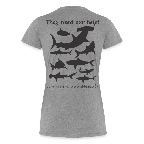 They Need Back - Camiseta premium mujer