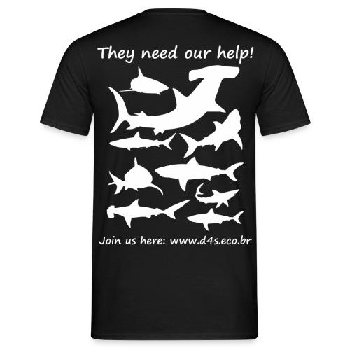 They Need Back - Camiseta hombre