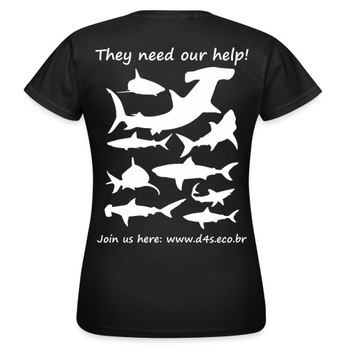They Need Back - Camiseta mujer