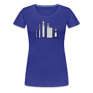Tee shirts ~ T-shirt Premium Femme ~ Vape tools