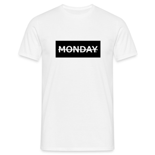 Monday - T-Shirt || Simple Monday - Männer T-Shirt