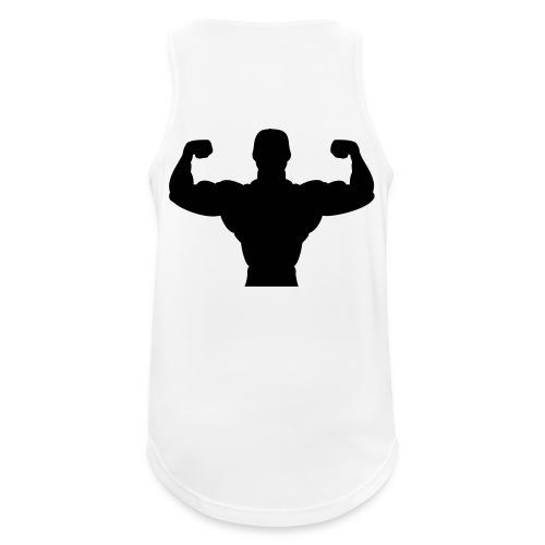 Tank Top Body Builder Männer  - Männer Tank Top atmungsaktiv
