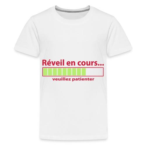 T-Shirt | Réveille en cours.. - T-shirt Premium Ado
