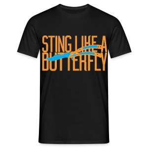 Sting Like A Butterfly - Men's T-Shirt