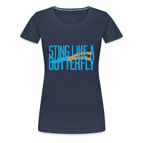 Sting Like A Butterfly - Women's Premium T-Shirt
