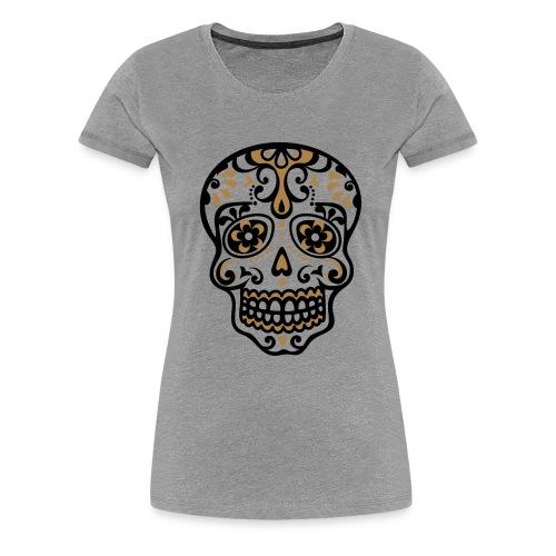 T-shirt tète de mort - T-shirt Premium Femme