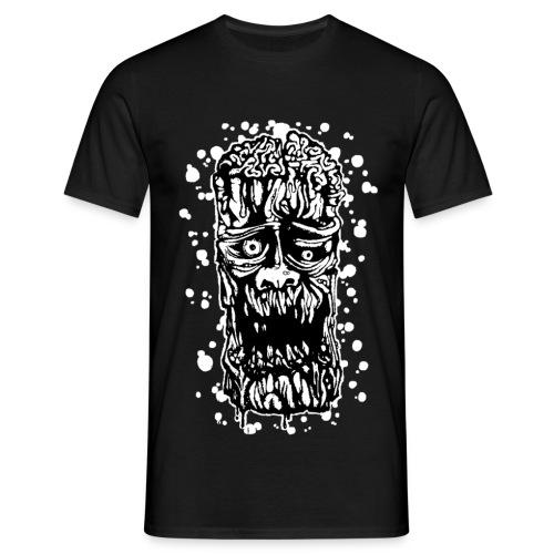 Zombie-Albero B/N - Maglietta da uomo