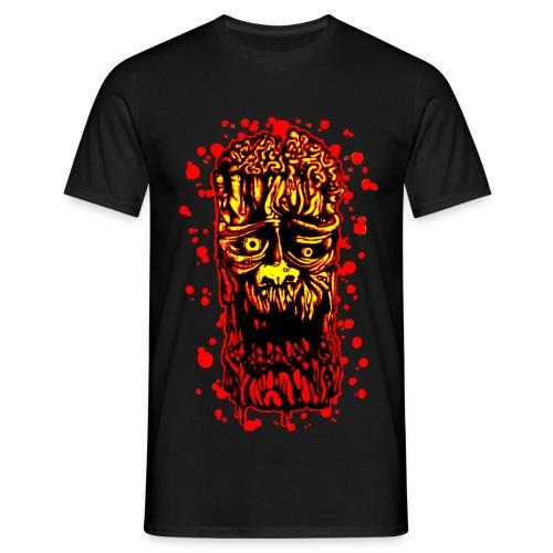 Zombie-Albero Rosso - Maglietta da uomo