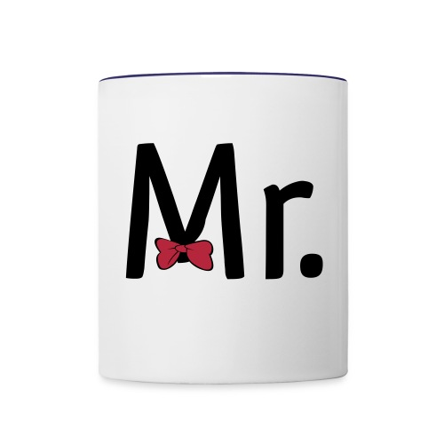 Tasse Mr. - Mug contrasté