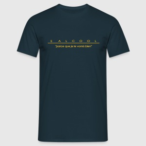 l'alcool... Tee shirts - T-shirt Homme