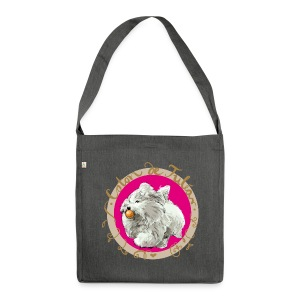 Coton Action  - Schultertasche aus Recycling-Material