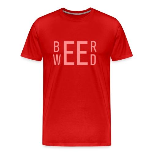 Beer & Weed - Männer Premium T-Shirt