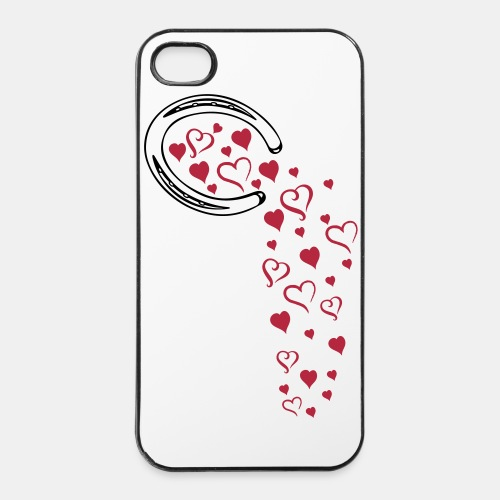 Fallin hearts Iphone 4/4S Hard Cover - iPhone 4/4s Hard Case