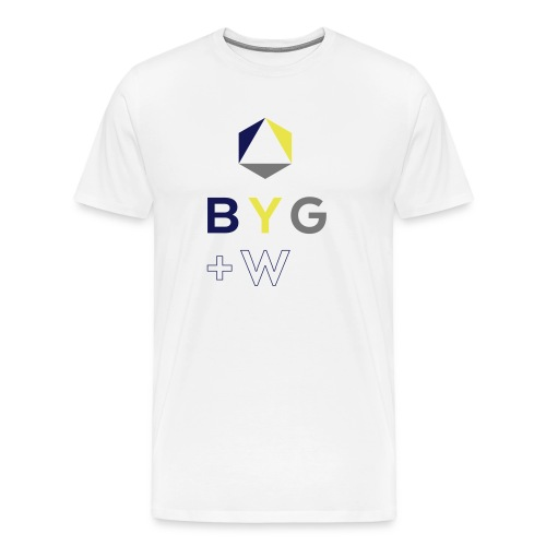 BYG+White - Men's Premium T-Shirt