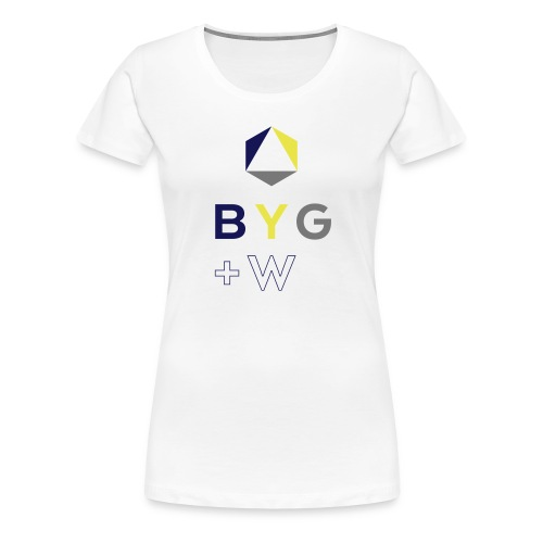 BYG+White Girls - Women's Premium T-Shirt