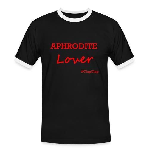 T-Shirt: Aphrodite - Männer Kontrast-T-Shirt