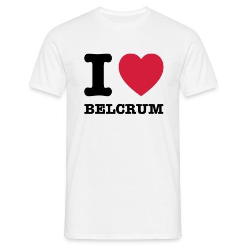 I Love Belcrum (heren) - Mannen T-shirt