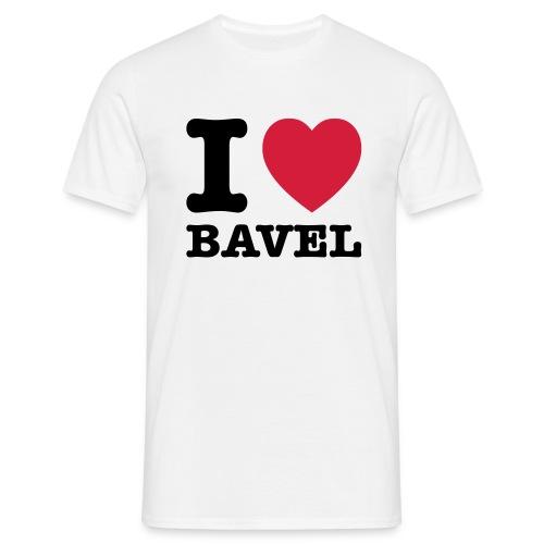 I Love Bavel (heren) - Mannen T-shirt