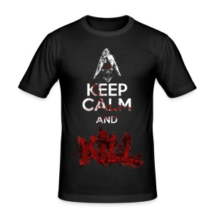 Keep calm and Kill - Nino Seiseisei - Maglietta aderente da uomo