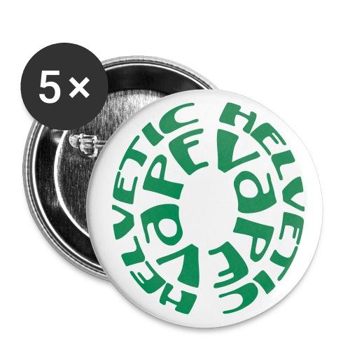 Helvetic Vape - Lot de 5 grands badges (56 mm)
