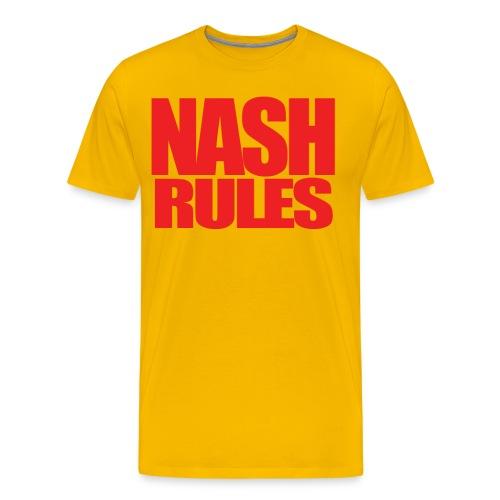 Men's JG Nash - Nash Rules - Men's Premium T-Shirt