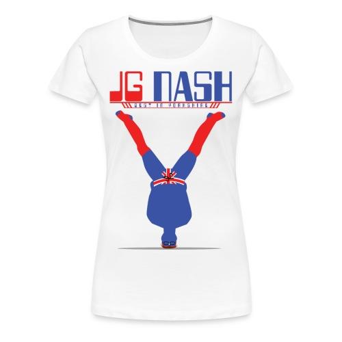 Women's  JG Nash - Best In Yorkshire - Women's Premium T-Shirt