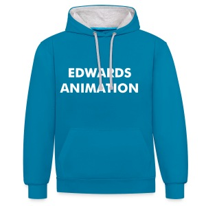 Edwards Animation Official Hoodie - Contrast Colour Hoodie