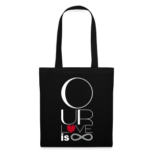 Our Love is Infinite Tote Bag - Tote Bag
