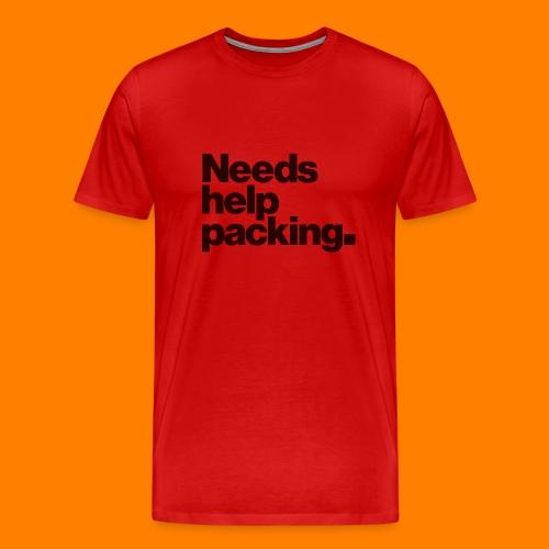 Needs help packing tee shirt - Men's Premium T-Shirt