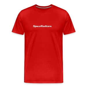 SpasNation Red T - Men's Premium T-Shirt