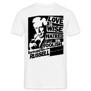 Bertrand Russell - Love is Wise  - Men's T-Shirt